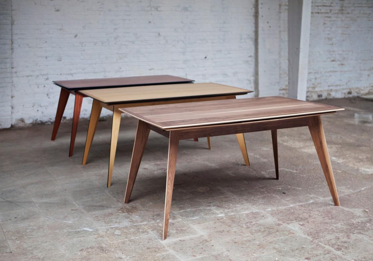 3 tafels op een rij